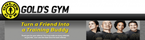 golds gym referral program