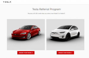 tesla referral program example