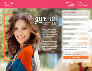 ulta referral program