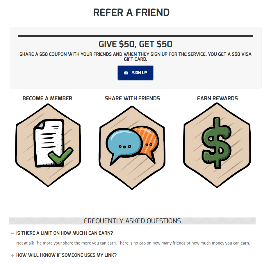 Absolutely Positively The Best Referral Program Ideas