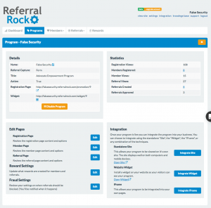 referral rock updates