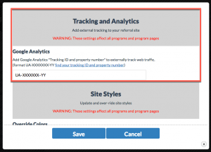 tracking-and-analytics