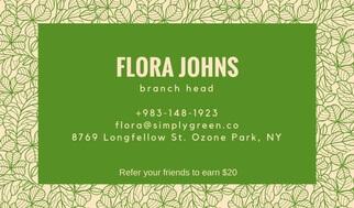 flora johns refer a friend