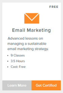 HubSpot's Email Marketing Class Outline