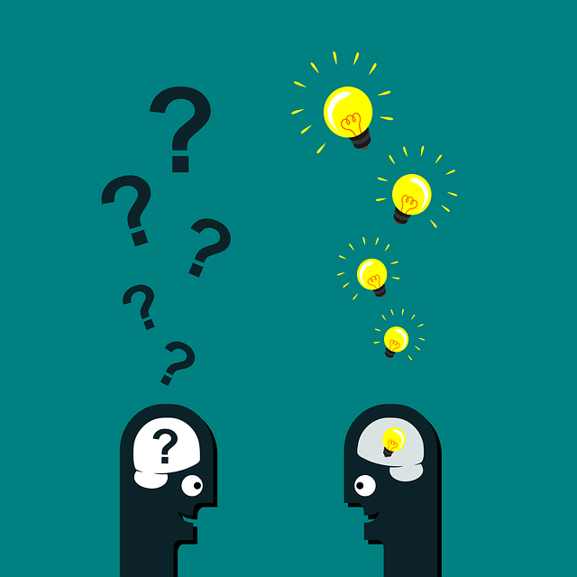 people having ideas and questions