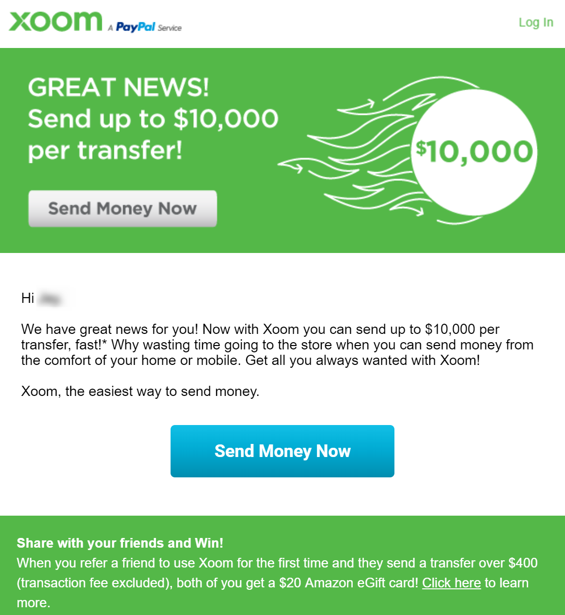 💵 Now you can send more with Xoom 💵 jay jk kang gmail com Gmail