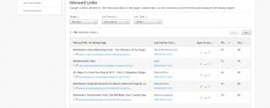 Moz' Open Site Explorer a free backlink tool