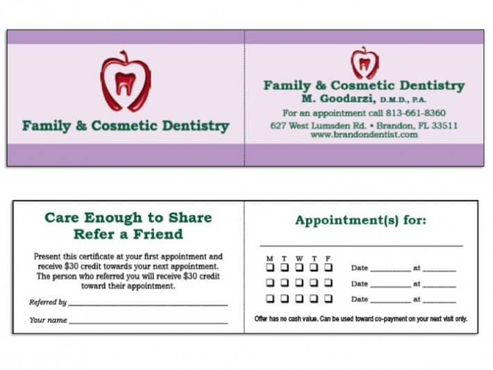 dental care to share card