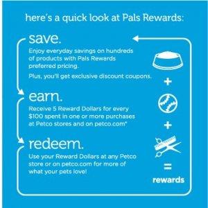 Petco's rewards program