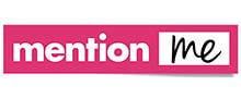 Mention Me website logo - a referral software