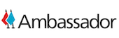 Ambassador website logo - a referral software