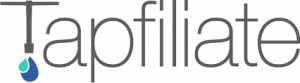 Tapfiliate website logo - a referral software