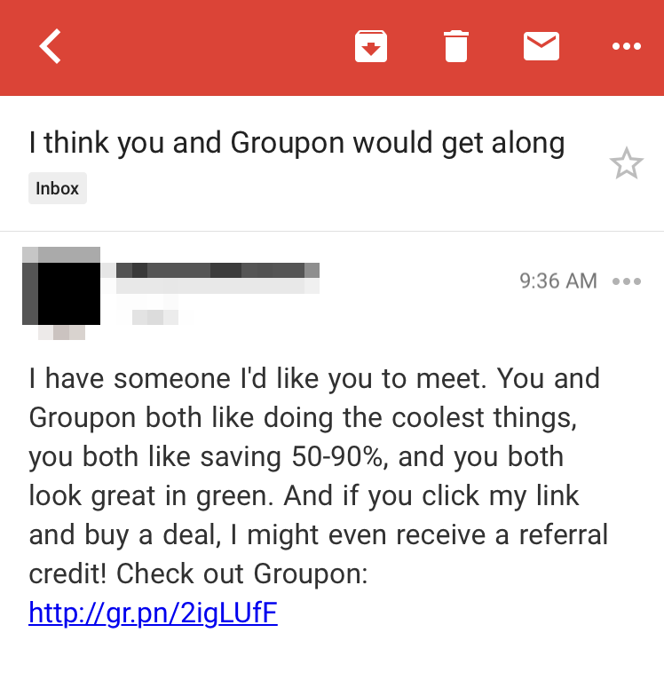 groupon message 2