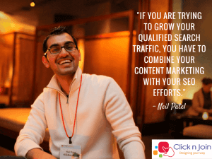 Marketing Influencer Neil Patel