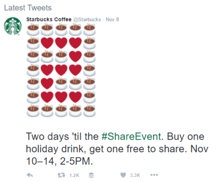 starbucks social currency