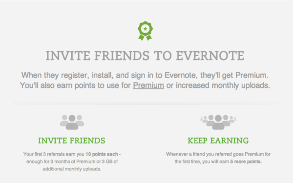 evernote refer-a-friend best practices