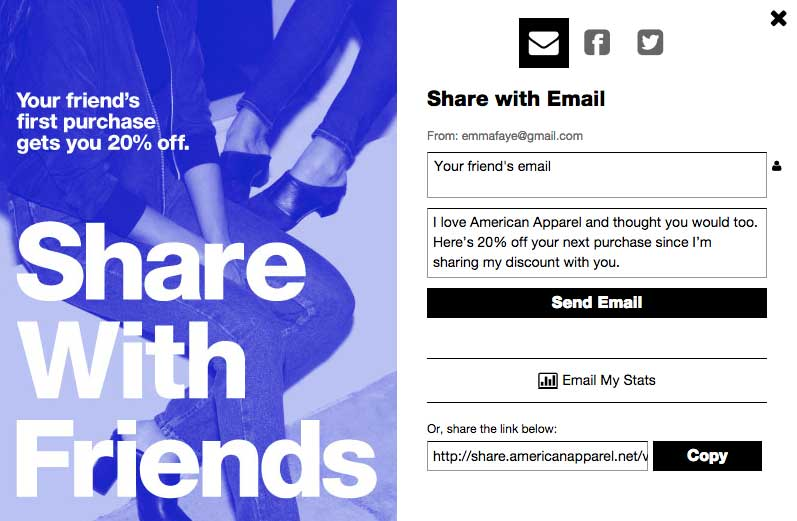 american-apparel-referral-program