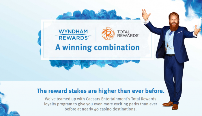 Wyndham Rewards Caesars Entertainement Total Rewards 700x402