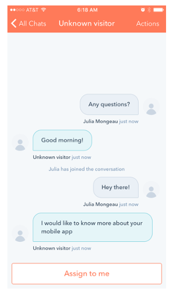 crm customer conversations