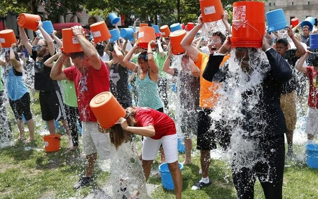 ALS ice bucket challenge example of user generated content