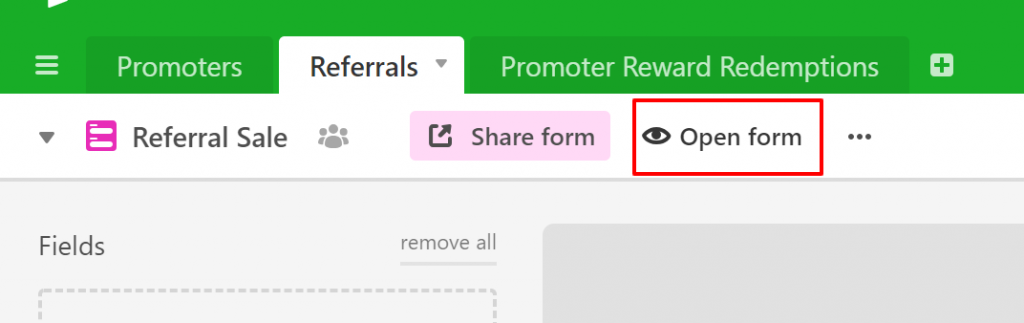 referral tracking referrals spreadsheet to register sales and referrals to promoters guide