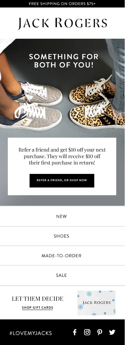 Jack Rogers referral email