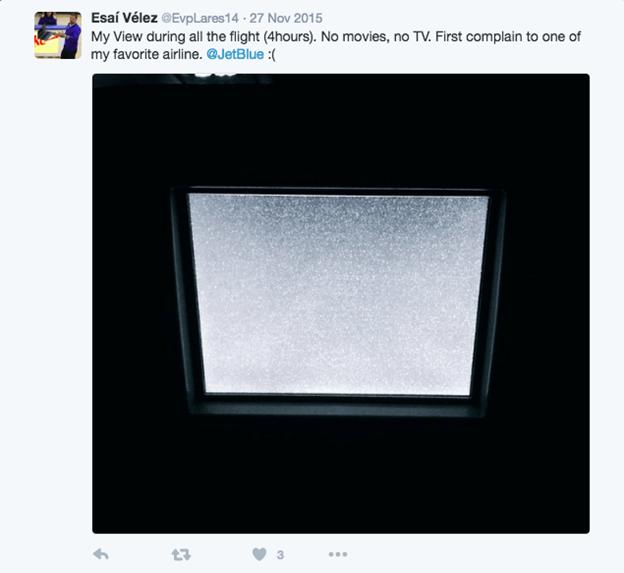 jetblue compaint social media