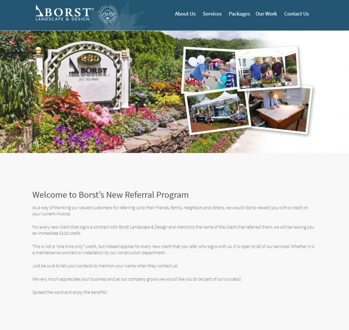 business referral program