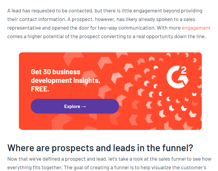 how companies pull of b2b lead generation strategies example