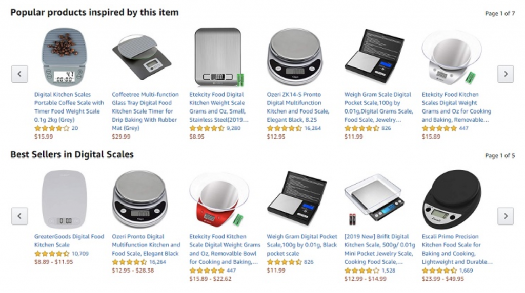 amazon personalized products