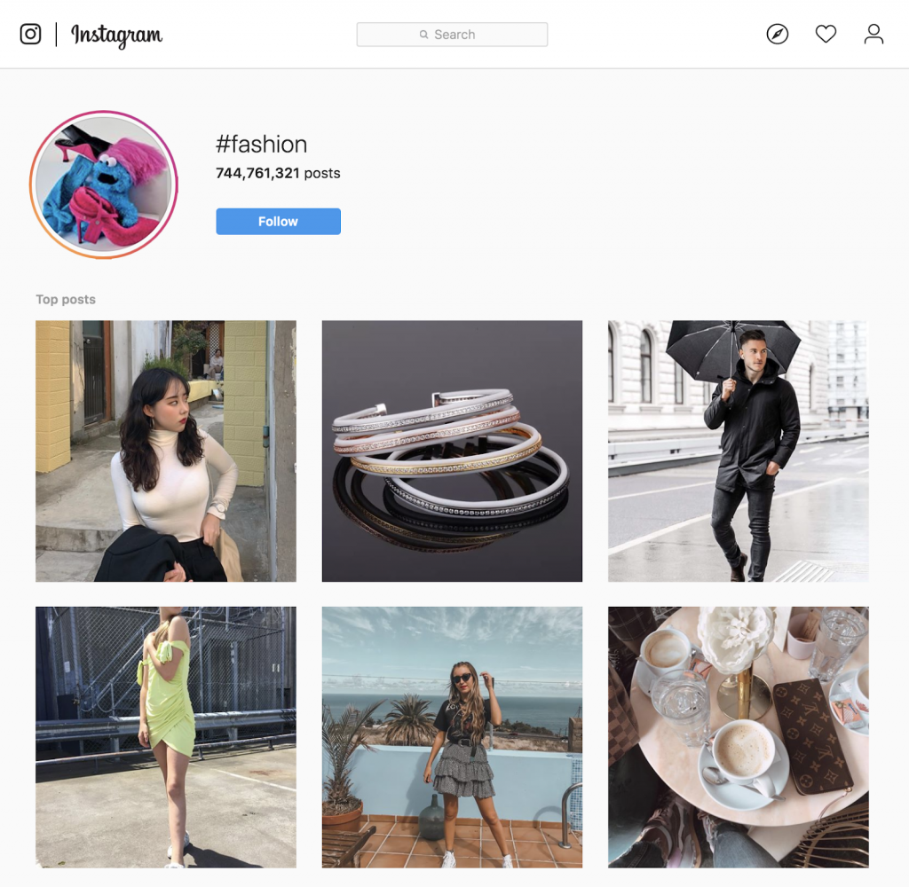 fashion hashtag instagram leads