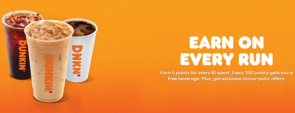 dunkin rewards loyalty program