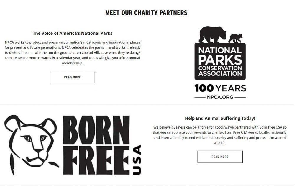 body shop charitable donations