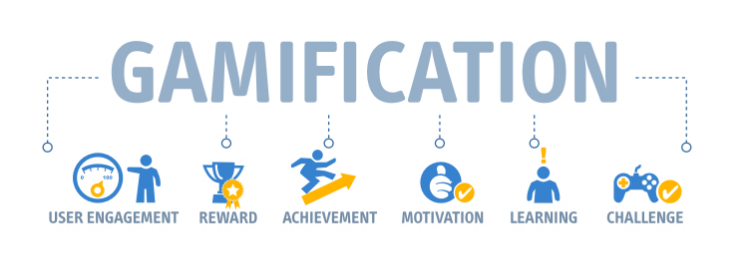 Gamification: user engagement, reward, achievement, motivation, learning, challenge