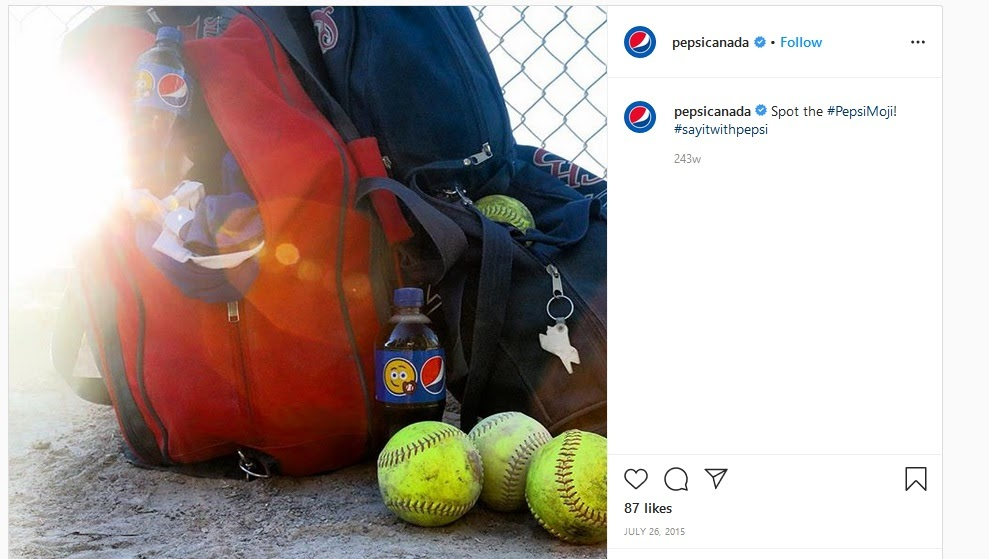 pepsi's social media referral campaign