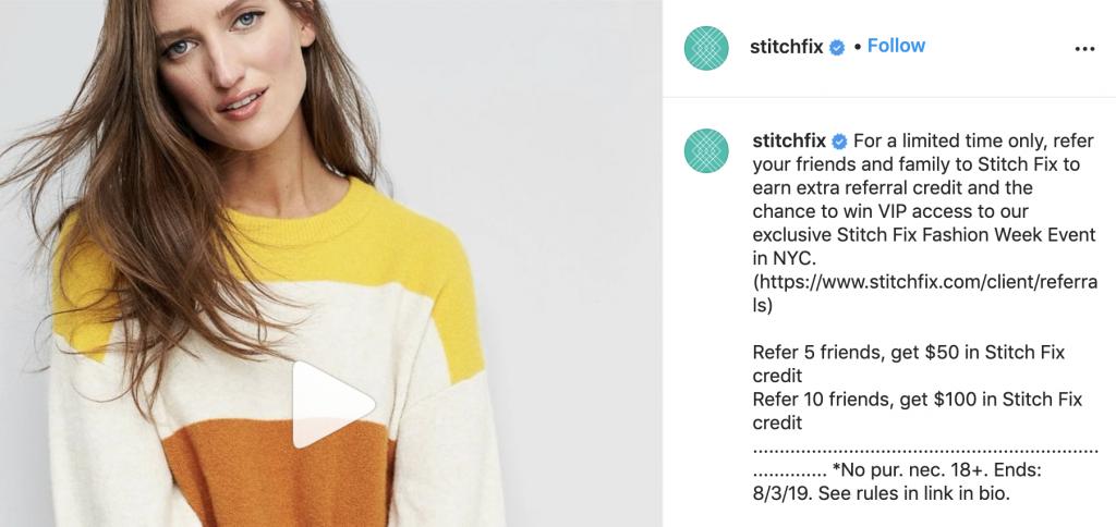 stitchfix referral program