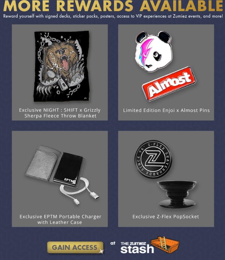 zumiez exclusive products