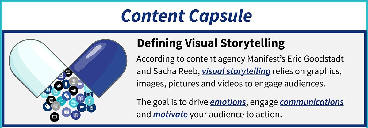 content capsule: defining visual storytelling