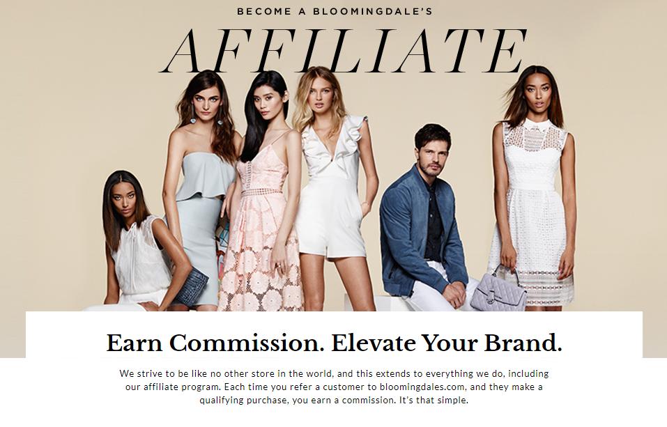 bloomingdale's affiliate program