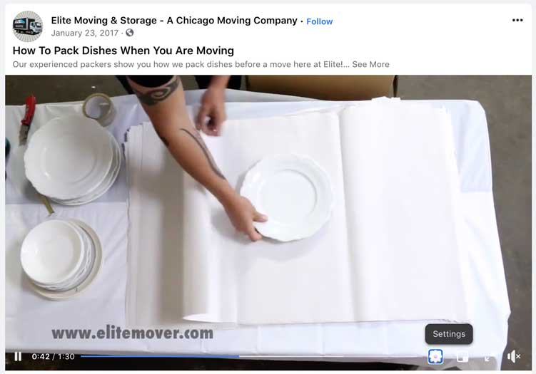elite-mover-packing-dishes