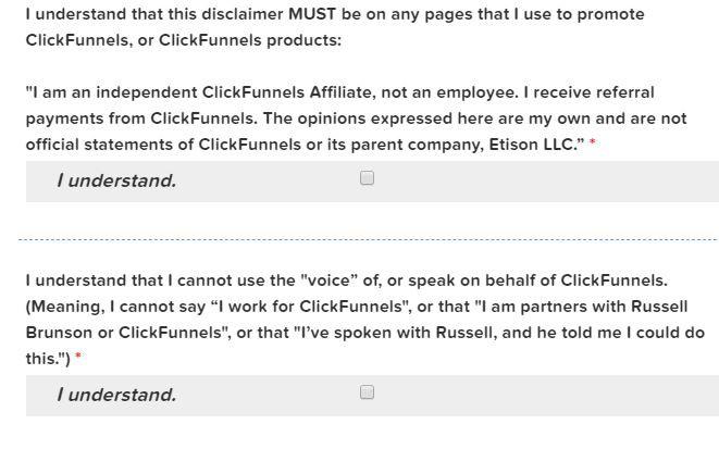 clickfunnels affiliate terms