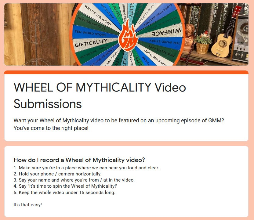 Wheel of Mythicality submission